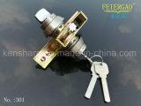 Único fechamento de cilindro lateral de Lock&Zinc da porta deslizante de aço inoxidável do fechamento 301