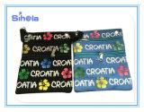 كرواتيا طبعة جواز سفر صغيرة تذكار نوع خيش حقيبة