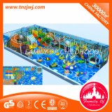Juguete de interior del patio de la piscina de la bola del tiburón grande del tema del océano