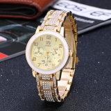 형식 상한 다이아몬드 장식용 목을 박은 숙녀 시계