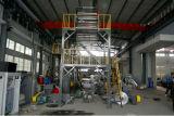 Três camadas da máquina de sopro Co-Expulsando da película giratória da porta-tarraxa