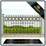 Valla de seguridad de la aleación de aluminio de la alta calidad para el jardín del chalet