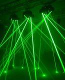 디스코 이동하는 헤드 RGB Laser 자전 광속 빛