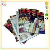 A4 Full Color Fashion Magazine Cloth Catalog Printing Company in China