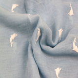 Шарф маркизета дельфина печатание, шарф полиэфира девушок, шали вспомогательного оборудования способа