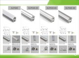 P/N 4222. Illuminazione di alluminio dell'espulsione di profilo della superficie/supporto LED di alta qualità