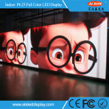 Tarjeta del panel a todo color de interior del alquiler LED P6.25 para el uso de la etapa