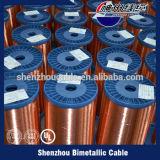 Verkäufe emaillierten den kupfernen plattierten Aluminiumdraht, der in China hergestellt wurde