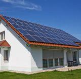 Système énergétique à la maison Réseau-Attaché de panneau solaire de toit