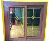 Energy-Saving Woodgrain UPVC/PVC Glijdend Venster (bhp-SW05)