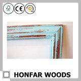Cadre de tableau en bois d'art rustique de mur pour le décor