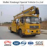20m Dongfeng Euro5の電気のための空気のバケツのトラック