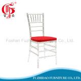 Cadeira transparente barata do casamento de Chiavari da resina do projeto para o banquete de casamento