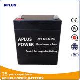 Batteries rechargeables d'acide de plomb scellées exemptes d'entretien 12V 4ah