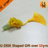 Azionamento della penna del USB di Chirocarpus dell'agrume della resina per i regali di promozione (YT-3295)