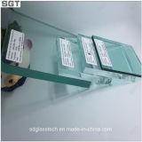5m m 8m m vidrio templado/endurecido de 12m m para el vario uso