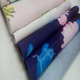 Tela de materia textil impresa poliester del hogar de la ropa de la manera
