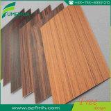 Листы ламината зерна украшения 1-30mm деревянные