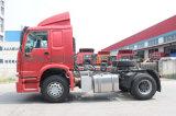 Sinotruk HOWO 4X2 트랙터는 40FT 콘테이너 트레일러를 트럭 운반한다