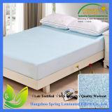 Bamboo Afgeleid viscoserayon matras beschermer dekking door Coop Home Goods - Koeling Waterdicht Hypo-allergeen Topper - Full - White