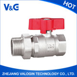 Valogin Butterfly Brass Ball Valve avec Union Fxm