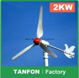 3 kW de sistema de la turbina de viento Sistema de Red de Energía Eólica