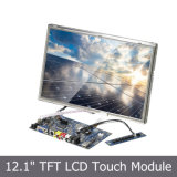 """12 """"TFT LCD SKD y marco abierto con pantalla táctil"""