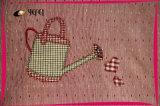 Impressão do algodão do bordado de Applique que cozinha o avental da cozinha