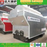 caldeira de vapor natural rapidamente empacotada horizontal da circulação de três passagens 6t/Hr