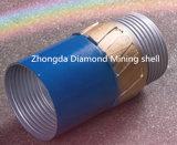Morceaux de foret imbibés de faisceau de diamant avec les diamants synthétiques de qualité et le rendement élevé