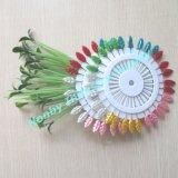 Dekorative Weihnachtsstifte mit reizendes Blatt-geformtem Kopf