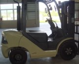 Un 3.5t Diesel Forklift with Yanmar Engine and Triplex 7.0m Mast (CPCD35)