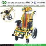 AluminiumPadiatric Kind-elektrischer Strom-Rollstuhl