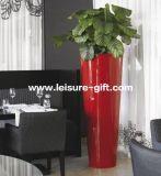 Fo-208 Tapered Tall Fiberglass Flower Pot