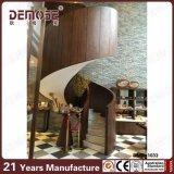 De houten Marmeren Spiraalvormige Treden van de Leuning (dms-1033)