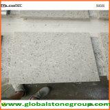 Tapas grises de la piedra del cuarzo para el banco del equipaje del hotel