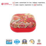Квадратное Gift Tin и Tea Tin Box (180X180X85mm)