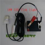 Gota profunda sumergible Underwater18W de la luz de la pesca de la noche del buscador del cebo del señuelo IP68