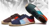 新式の人の麻の平らな靴(MD 07)