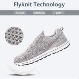 La Comodidad del Calzado del Estilo de la Manera del Knit Se Divierte los Zapatos Corrientes para los Hombres
