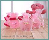 Sacchetto della caramella del Organza del sacchetto del regalo del Organza dell'acquazzone di bambino