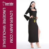 Freira adulta Costume de Women com Crosses L15316