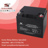 Batterie exempte d'entretien scellée de 12V 38ah VRLA pour le réverbère solaire
