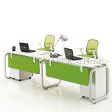 Stazione di lavoro poco costosa dell'ufficio della gente di disegno moderno quattro (SZ-WST727)