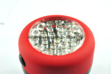 Luz de trabajo de goma de la pintura 24 LED del ABS para la emergencia de trabajo