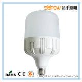 Ampoule en aluminium d'éclairage LED de la haute énergie 5W 10W 15W 20W 30W 40W E27/B22 de corps