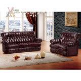 Il sofà del cuoio mezzo ha impostato (SF2303)