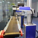 Цена машины маркировки лазера волокна мухы верхней ранга автоматическое