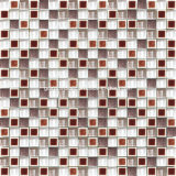 Glass & Stainless Steel를 가진 2016 얼음 Crackle Ceramic Wall Mosaic
