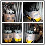3.5 toneladas LPG e Forklift do combustível do dobro do Forklift da gasolina